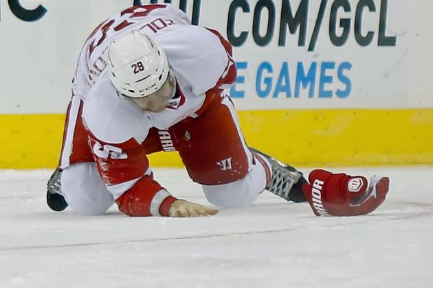 Injury-Riddled Red Wings Lose Another Defenseman