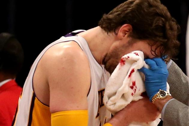 Lakers Will Have Healthy Gasol Coming off Bench