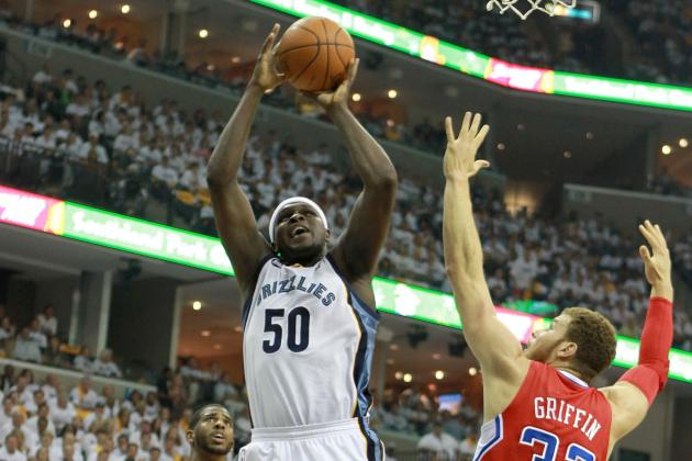 NBA Rumors: Zach Randolph Would Be Perfect Addition for Houston Rockets