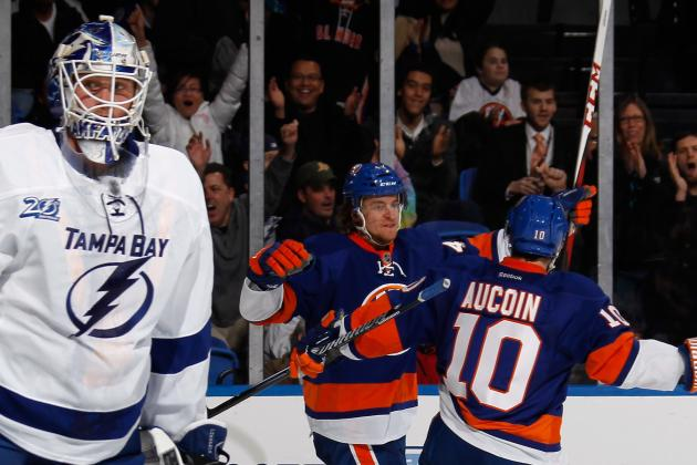 NYI 4, TBL 3: Islanders Survive Late Scare, Bolt Past Tampa Bay