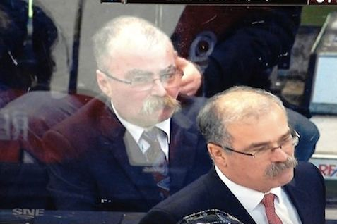 Look at Senators Coach Paul MacLean's Twin and Don't Laugh