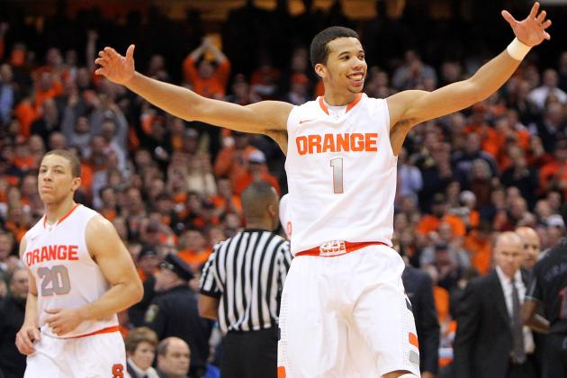 Video: Michael Carter-Williams' Big Dunk