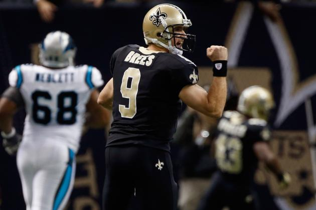 Saints QB Brees Selected to Pro Bowl