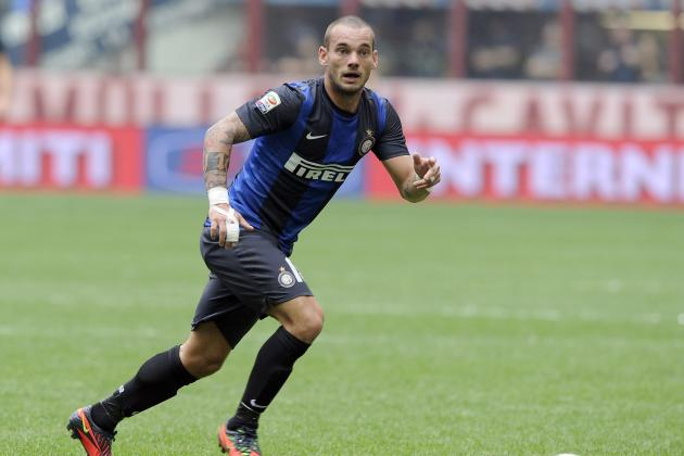 Wesley Sneijder Officially Completes Move to Galatasaray from Inter Milan