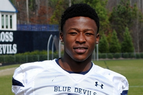 UGA RB Target Ranks Alabama Visit as an '8'