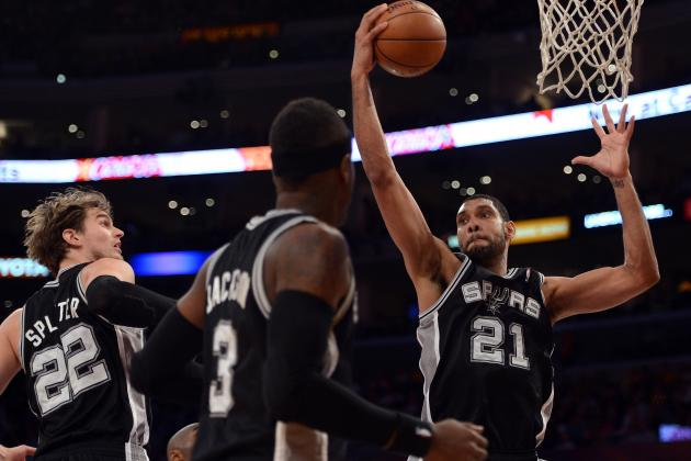 Duncan Passes Jerry Lucas on NBA Rebounding List