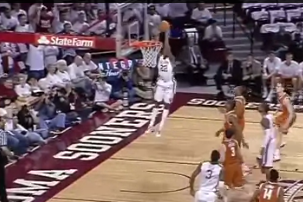 Amath M'Baye Has a Highligh Reel of Alley-Oop Dunks vs. Texas