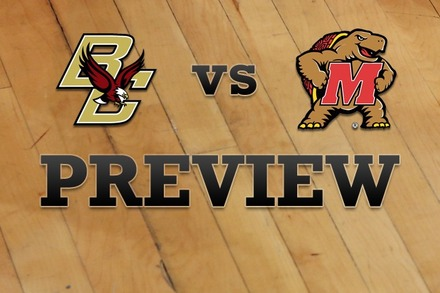 Boston College vs. Maryland: Full Game Preview