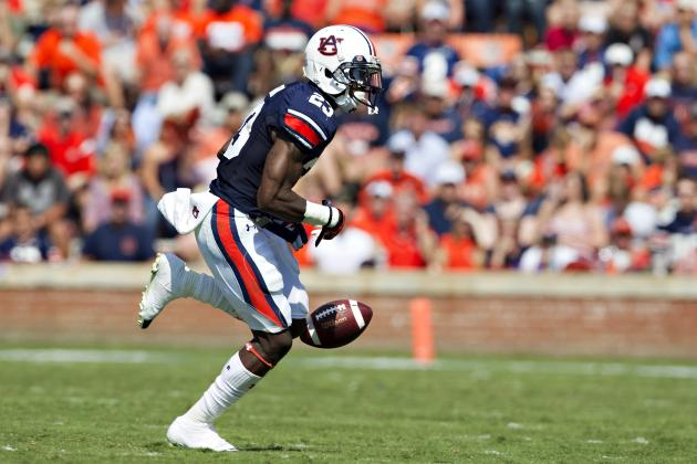 Auburn's Onterio McCalebb out of Senior Bowl Due to Hamstring Injury