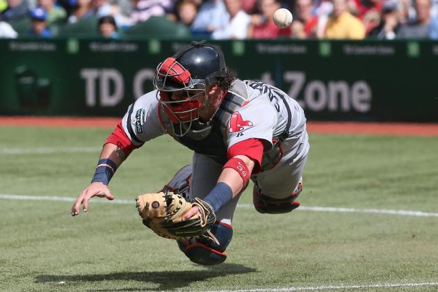 Jarrod Saltalamacchia: 'When I Catch, That's When I Play My Best'
