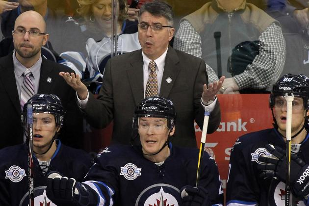 Noel Shuffles Players as Jets Take on Caps