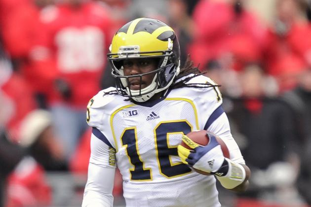 Jets Take Long Look at Denard Robinson