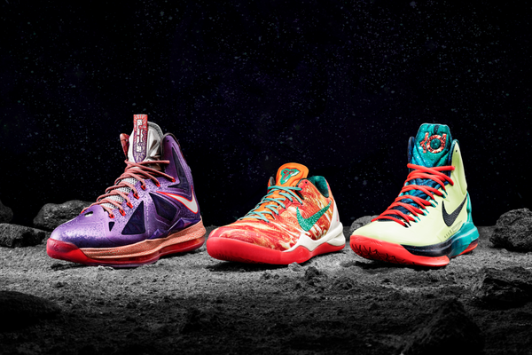 Grading All-Star Game Kicks of Kobe Bryant, LeBron James and Kevin Durant