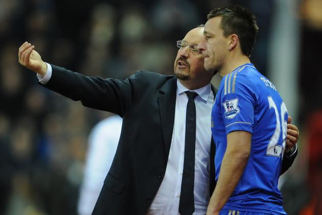Chelsea Boss Rafa Benitez Coy over John Terry Return