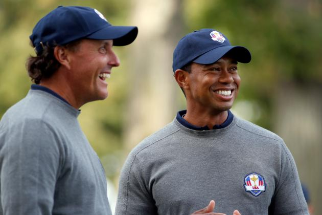 Tiger Woods Responds to Phil Mickelson's Tax Issues