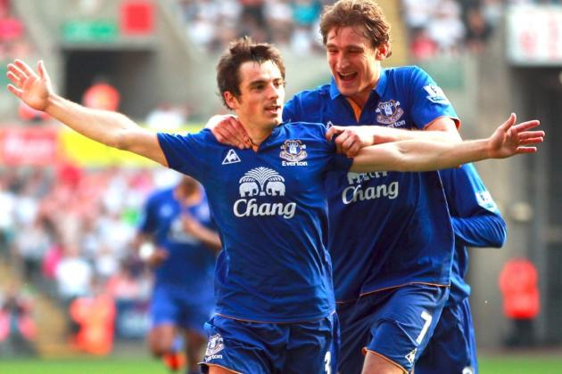 Everton's Leighton Baines Deserves to Be Playing for a Bigger Club