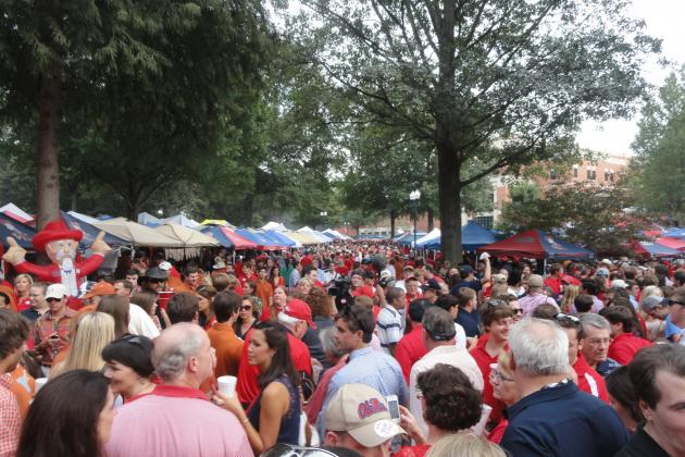 Ole Miss Wins Recruits, Families with Oxford, Grove and Much More