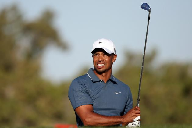 Tiger on Getting out of California, Anchoring, Torrey