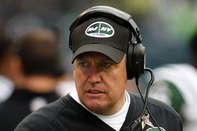 Rex Ryan Wrecked His Red Mustang After Running a Stoplight