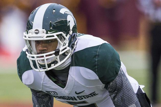 Michigan State's Johnny Adams a No-Show at Senior Bowl Due to Injury