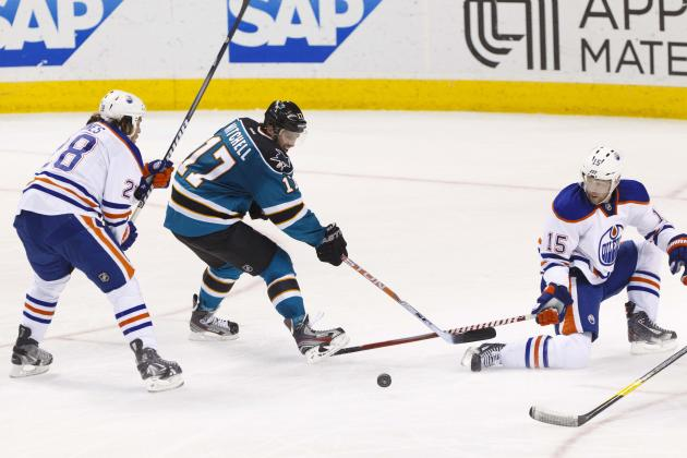 Sharks-Oilers Preview