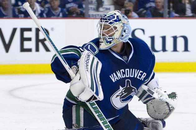 Canucks to Go with Schneider in Net Against Flames Wednesday