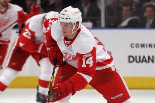 Red Wings Call Up Nyquist to Replace Samuelsson (Groin)