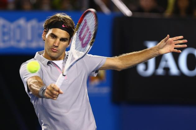 Roger Federer Will Survive Tough Match Against Jo-Wilfried Tsonga in Quarters