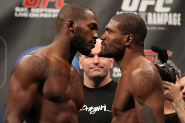 UFC's Rampage Jackson Wants Jon Jones' Oblique Knee-Kick Banned