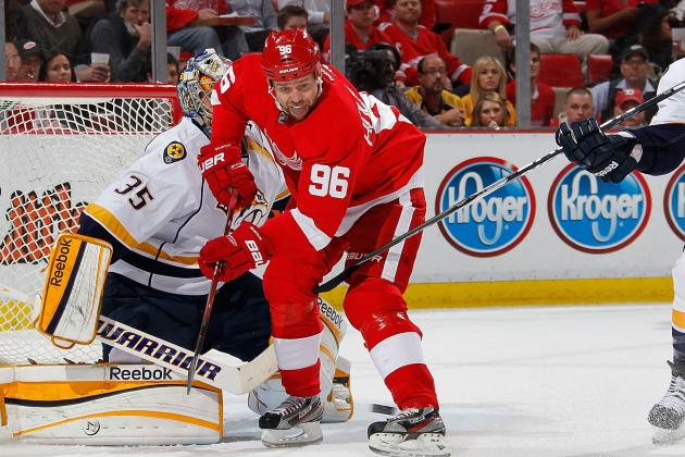 Red Wings' Tomas Holmstrom Retires: 'I Had a Great Job'