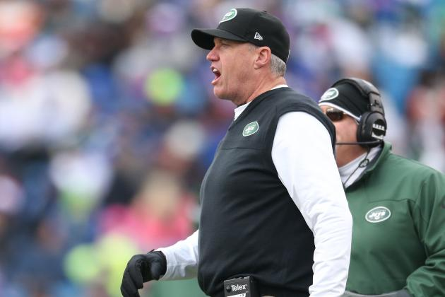 Jets Head Coach Rex Ryan Smashes Red Mustang in 3-Car Pennsylvania Accident