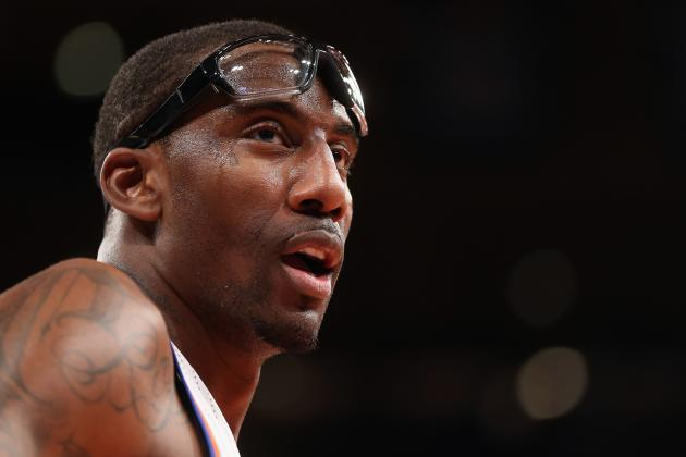 NY Knicks Have No Choice but to Go All in on Amar'e Stoudemire