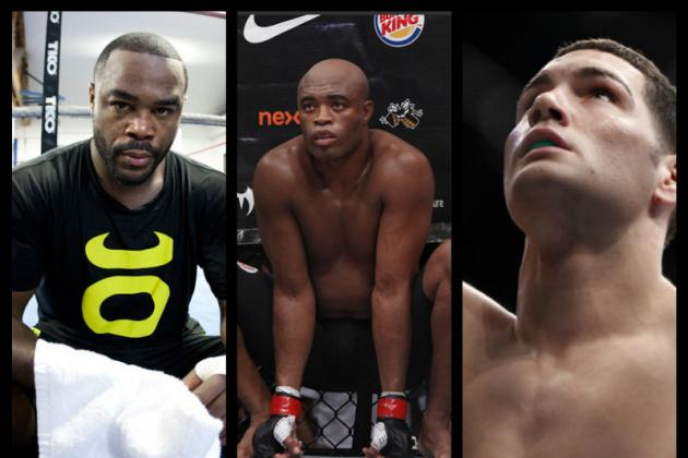 Rashad Evans or Chris Weidman: Who Should Anderson Silva Fight Next?