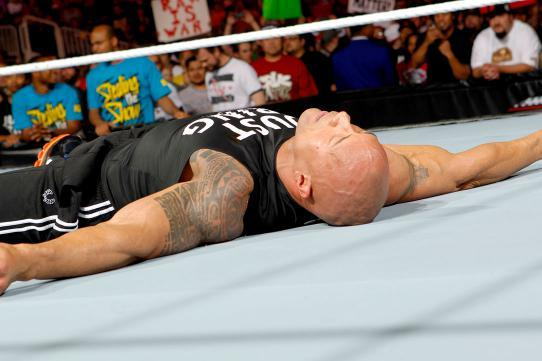 WWE News: The Rock Injured by the Shield After Last Night's Raw