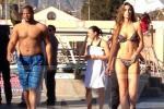 Katherine Webb Dons Bikini in ABC Show 'Celebrity Diving'