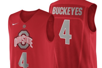 Ohio State to Wear Nike Logo Jersey Feb. 5