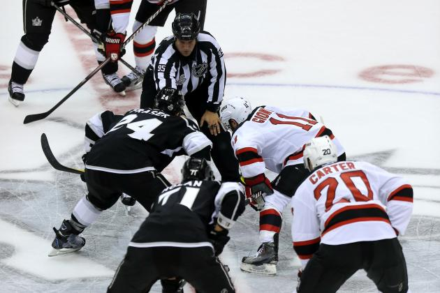 NHL Makes Rule Changes on Handling the Puck, Faceoffs