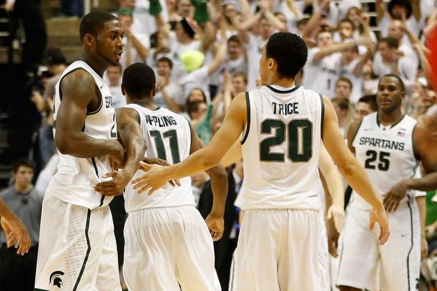 Michigan State Bests Wisconsin for B1G Road Win