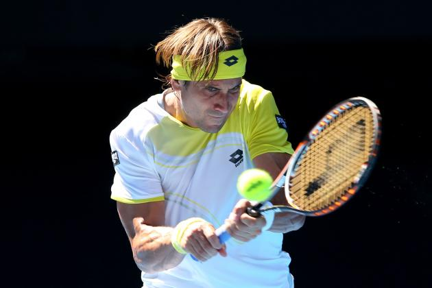 Australian Open 2013: David Ferrer Hopeless vs Novak Djokovic After Five-Set Win