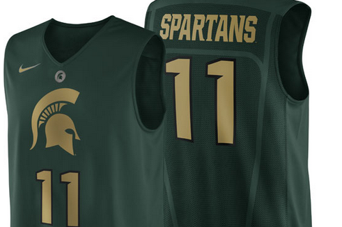 MSU to Don Special Nike Uniforms vs. Indiana
