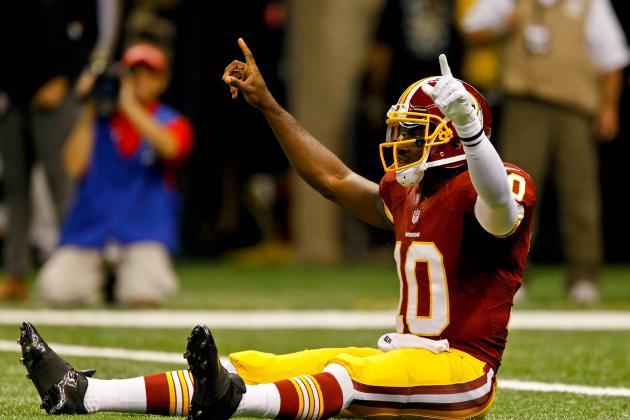 Robert Griffin III Named Sporting News Rookie of the Year