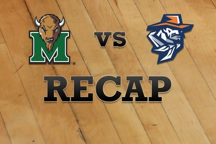 Marshall vs. UTEP: Recap and Stats