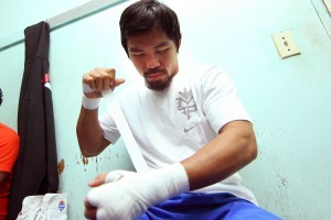 April Fight for Manny Pacquiao Not Expected