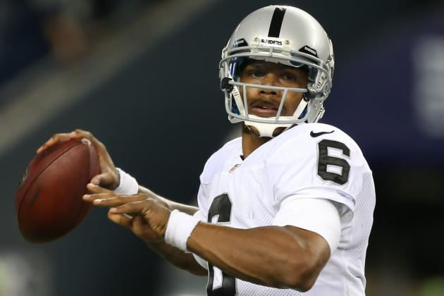 Raiders GM Claims Terrelle Pryor Has Shot at Winning Starting QB Job in 2013