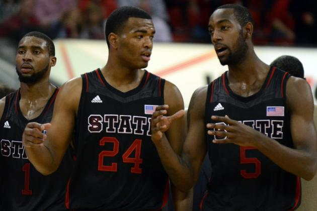 CJ Leslie, NC State's Defense Cost No. 18 NC State in Upset by Wake Forest