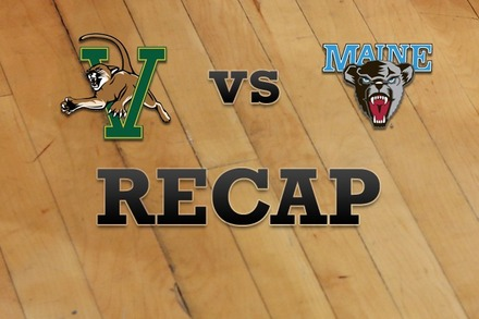 Vermont vs. Maine: Recap and Stats