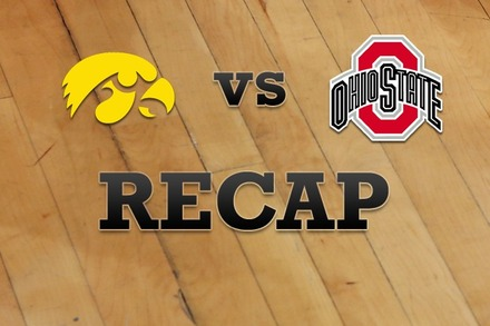 Iowa vs. Ohio State: Recap and Stats
