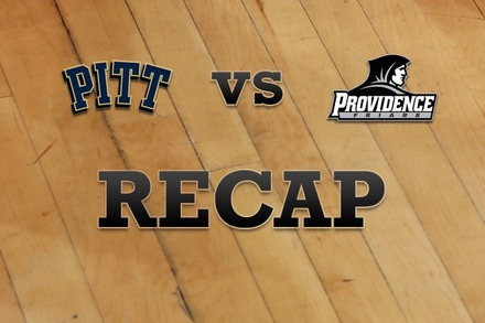 Pittsburgh vs. Providence: Recap and Stats