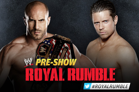 WWE Royal Rumble 2013: Antonio Cesaro vs. The Miz Is Perfect Opening Match