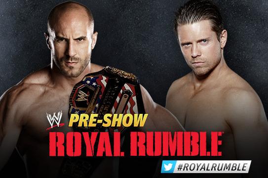 WWE Royal Rumble 2013: Antonio Cesaro vs. The Miz Is Perfect Opening Match